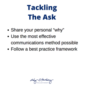 "- Share your personal ""why"" - Use the most effective communications method possible - Follow a best practice framework"