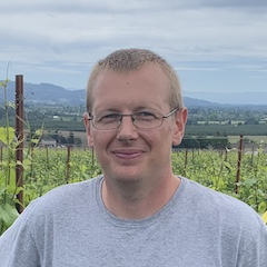 Lukas Pospiszyl, J. Christopher Wines Vineyard Manager