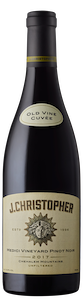 J Christopher Medici Old Vines Pinot Noir Wine 2017 Bottle