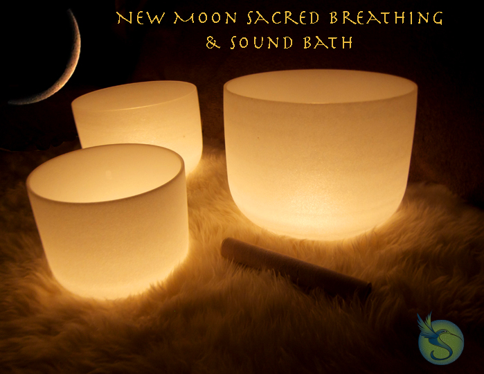 New Moon Sacred Breathing and Sound Bath with Spirit Walk Journey