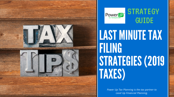 Last Minute Tax Filing Strategies