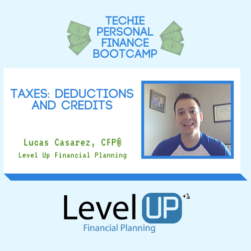 Taxes Deductions and Credits