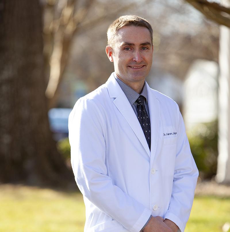 Dr. Aaron Hayes, DDS, MS - Practice Owner