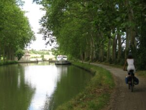 Section of the Canal du Midi near Castelnaudary