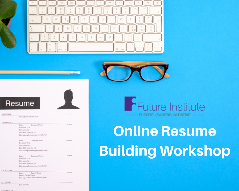 November 14th Fli Program Online Resume Building Workshop