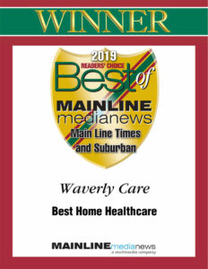 Best of MainLine 2019. Best Home Healthcare category