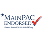 Main PAC endorsement logo