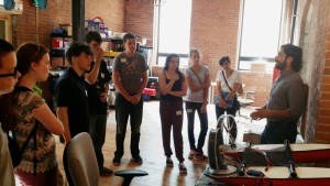 Platypus LLC and Grow a Generation STEM Careers Tours Brain Trusts