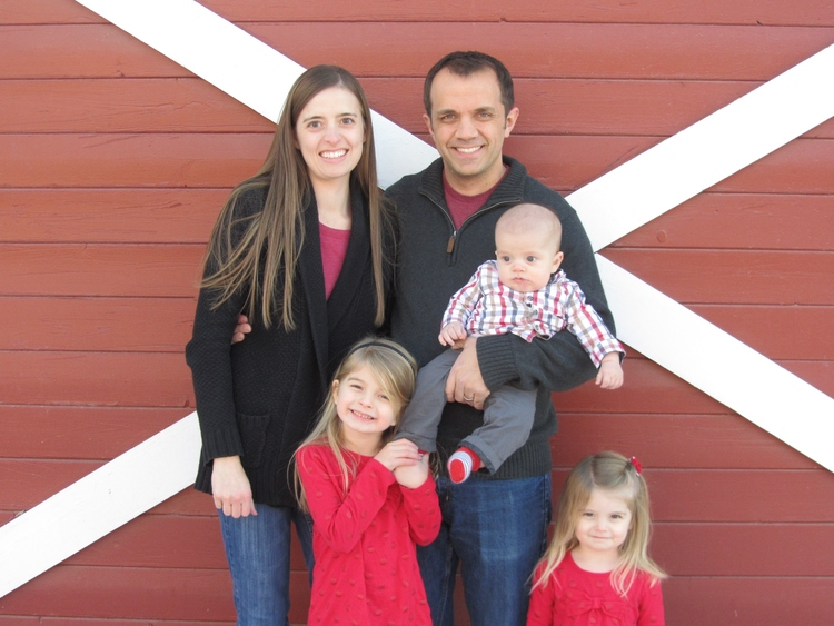 Dr. Brady Bates and Family