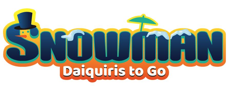 Snowman Daiquiris To Go Logo