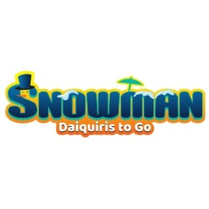 Snowman Daiquiris To Go Logo