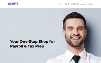 Associated Tax Services Website Example