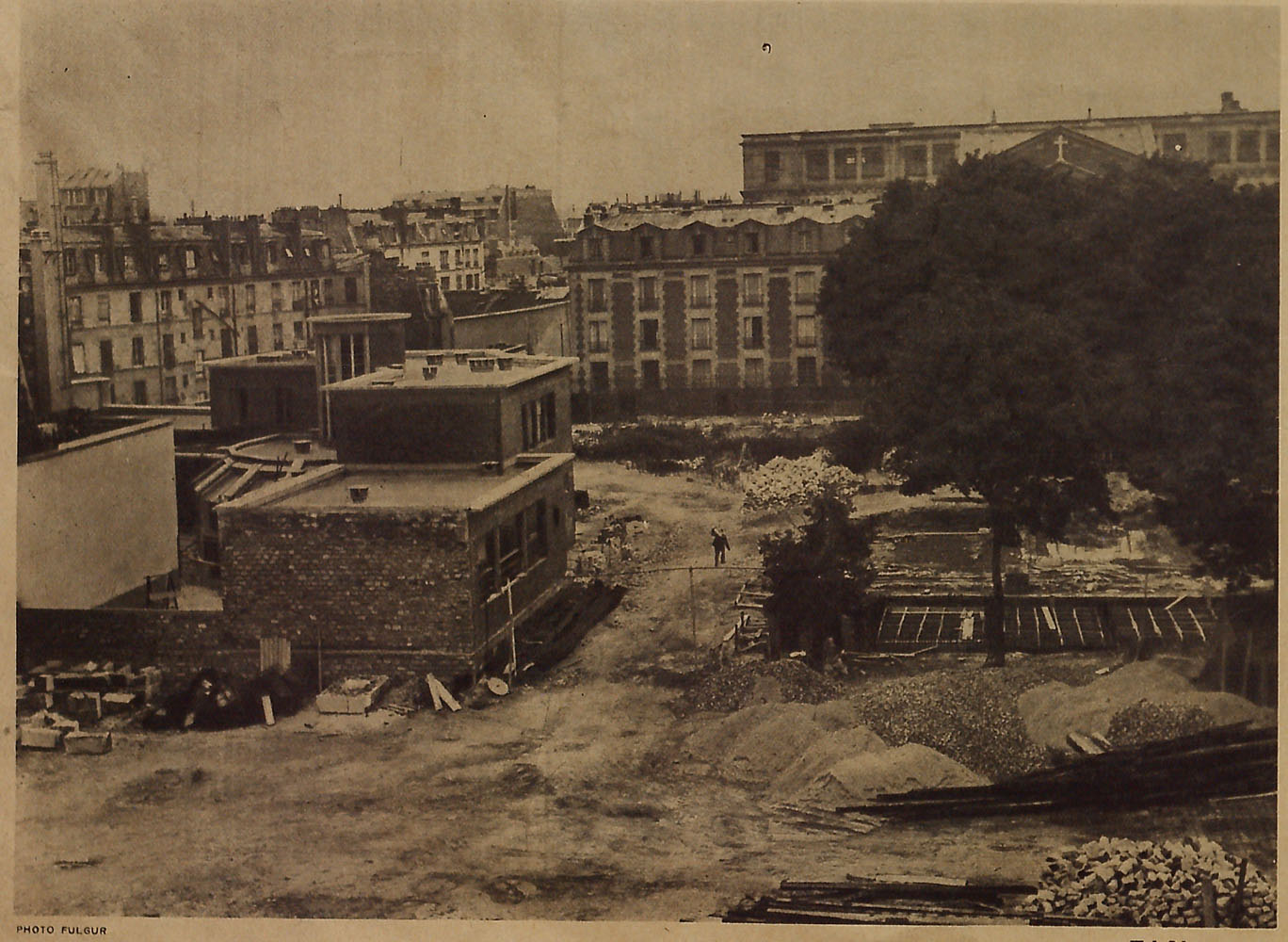 Demolition of Lazare