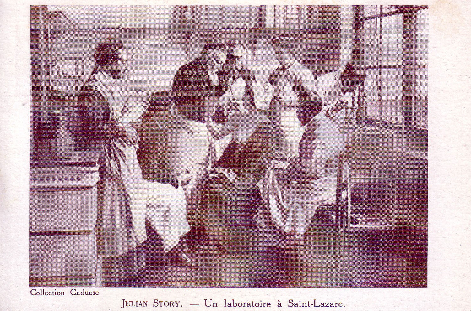 A Laboratory at Saint-Lazare