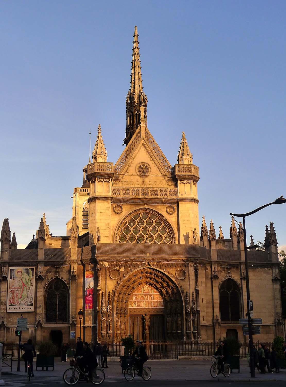 A modern day photo of the façade.