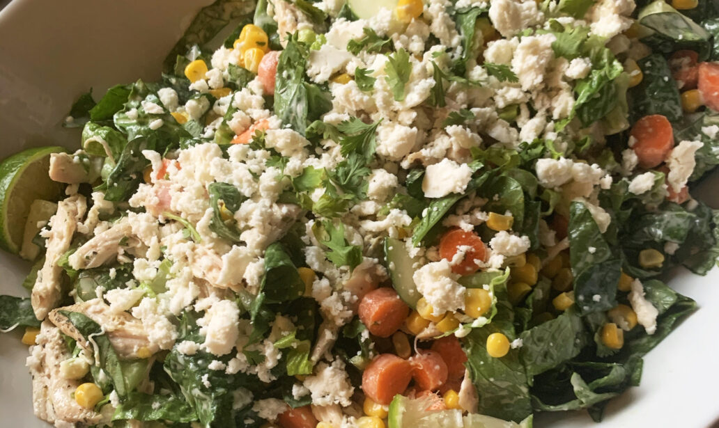 Elote Chicken Salad