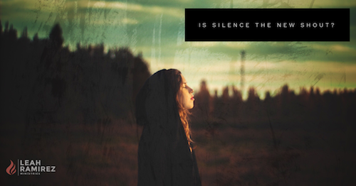 Is Silence the New Shout?