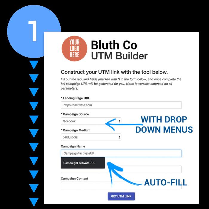 Custom UTM Form