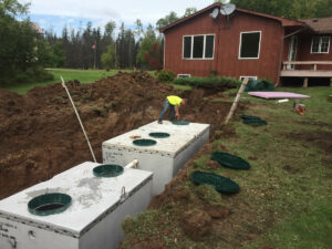 peterson-excavating-and-landscaping-duluth-minnesota-holding-tank-installation