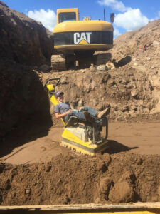 peterson-excavating-and-landscaping-duluth-minnesota-relaxing-at-the-job-site