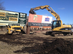 peterson-excavating-and-landscaping-duluth-minnesota-sign-installation