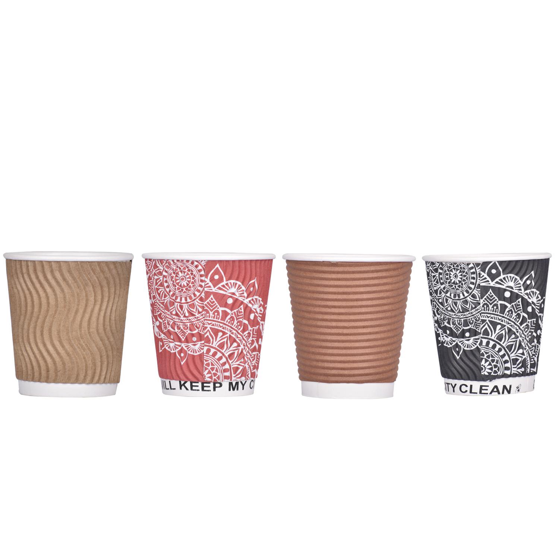 ripple Paper coffee cups in bulk