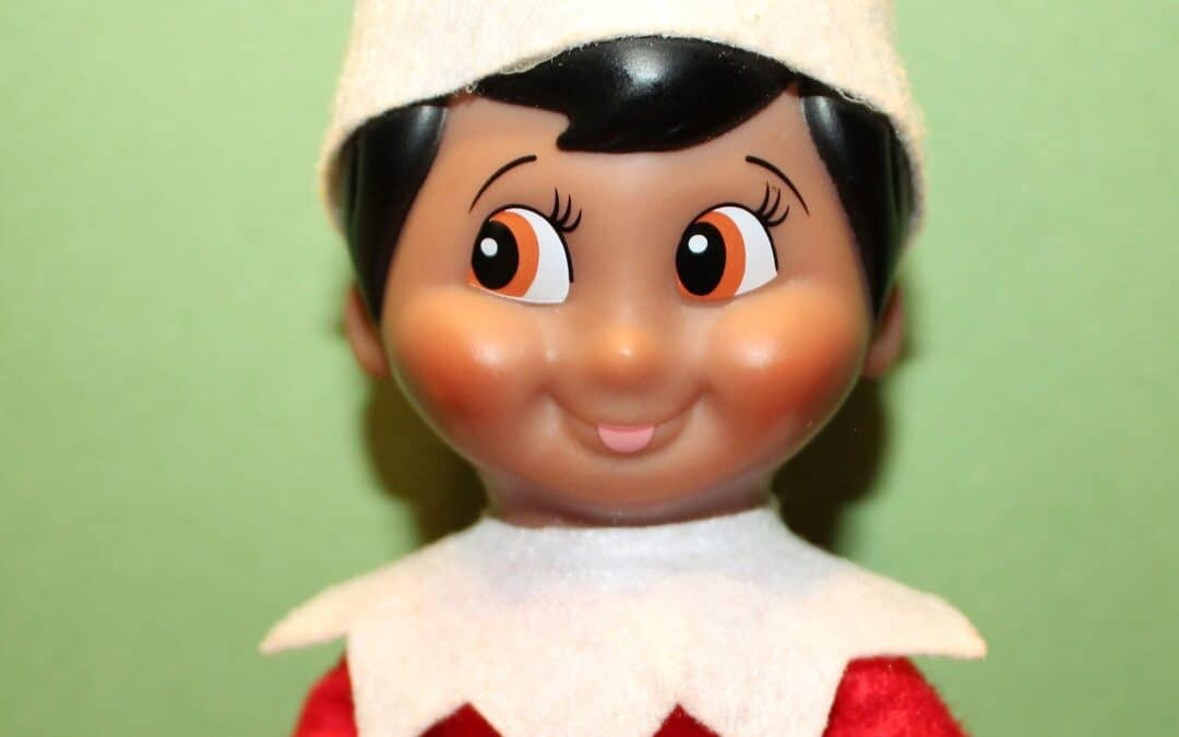 God is Not Your Elf on The Shelf