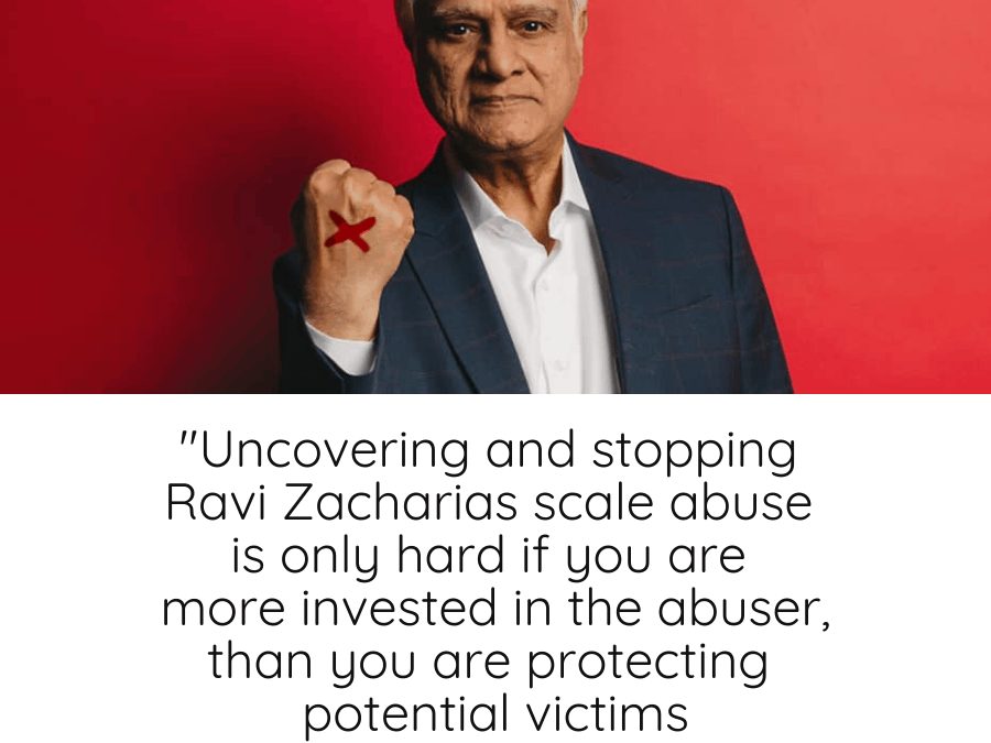 Ravi Zacharias is Not An Anomaly, He's The Very Common Fruit of the Toxic Religious Tree We Have Been Watering for Centuries.