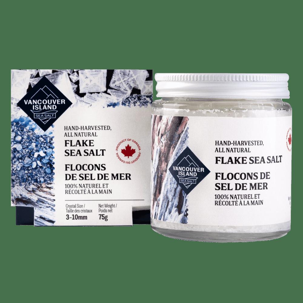 Vancouver Island Sea Salt Flakes - Jar
