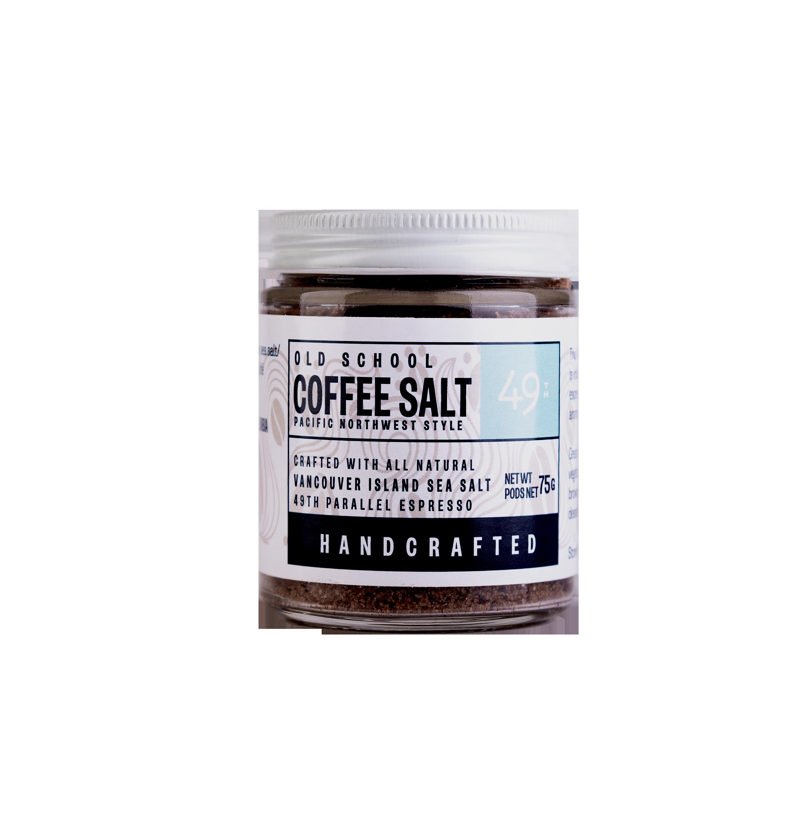 Coffee Salt Pacific Northwest Style