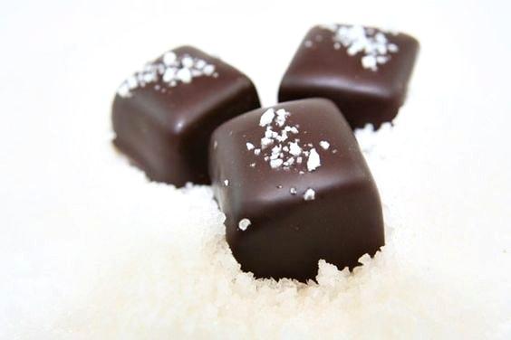 urge fleur de sel chocolate