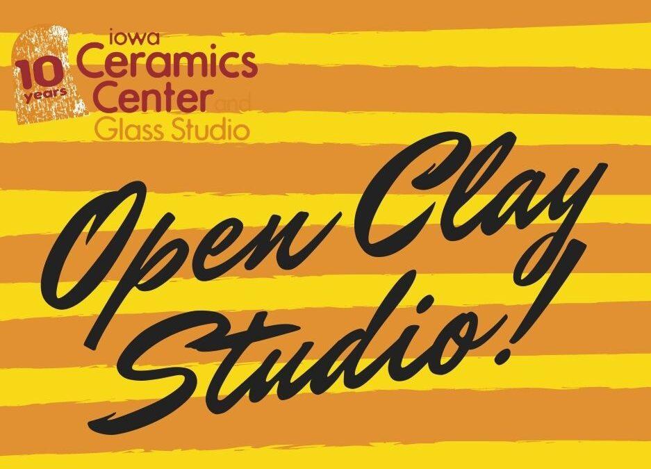 September Open Studio, Ceramics 4 weeks