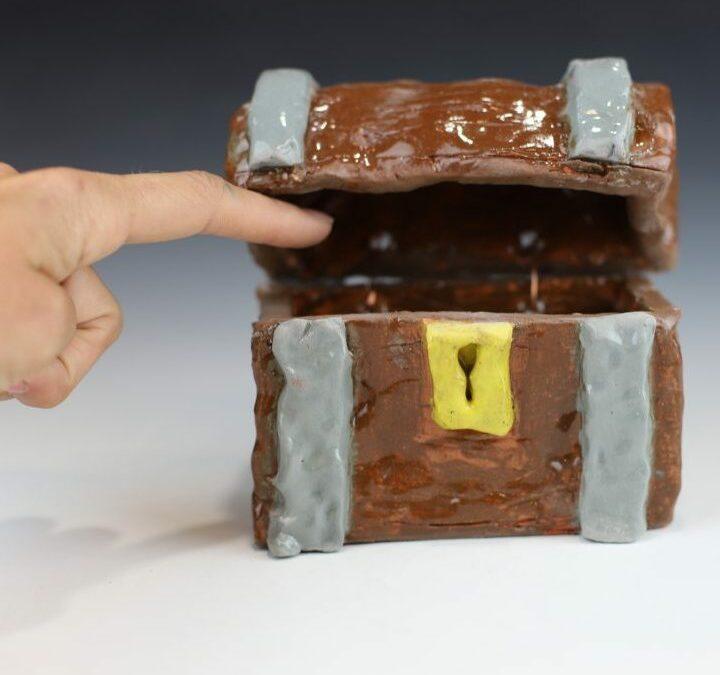 Cupcake Treasure Box