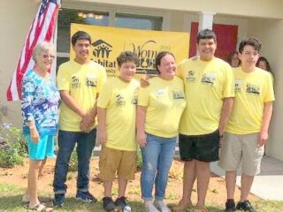 Habitat House Children w Sherie