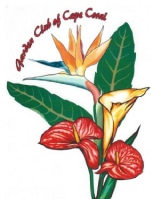 Garden Club of Cape Coral Logo Flower Arrangement