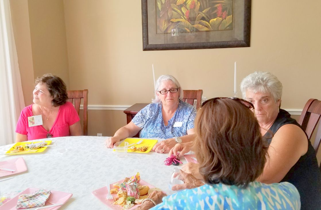 Tea at Judy's Garden Club of Cape Coral