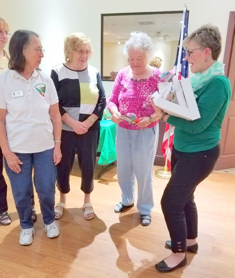 Garden Club of Cape Coral Service Recognition