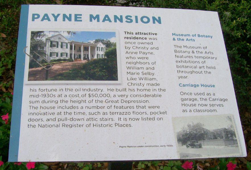 Payne mansion with Warhol Exhibit