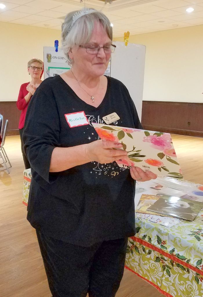 Marty Ward Award to Sylvia Schwartz