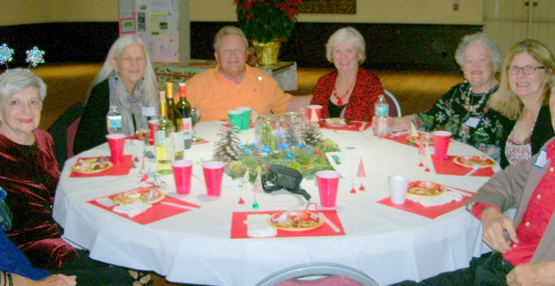 Holiday Party Table