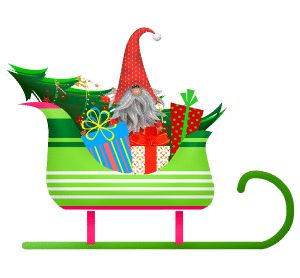 Christmas Elf for Donations for Garden Club of Cape Coral