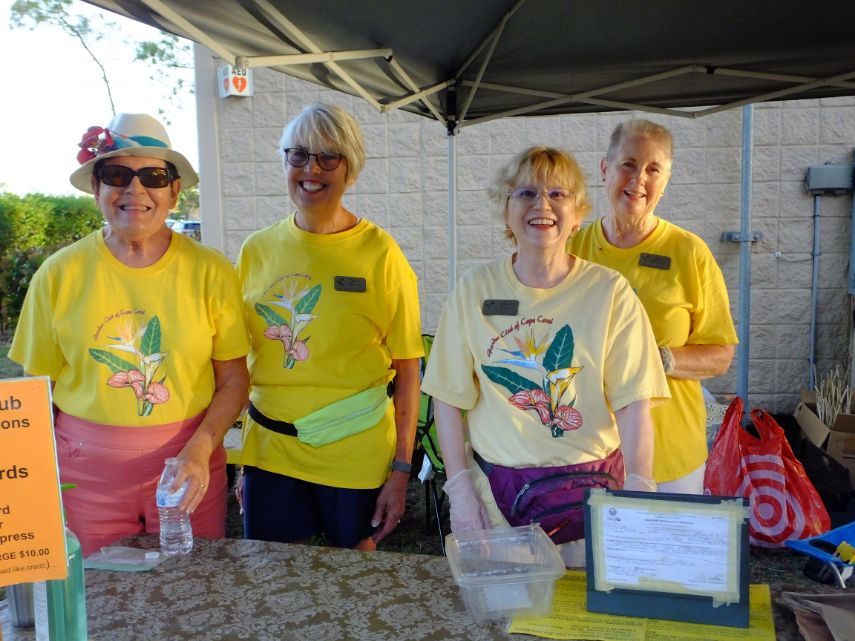 Garden Club Volunteers