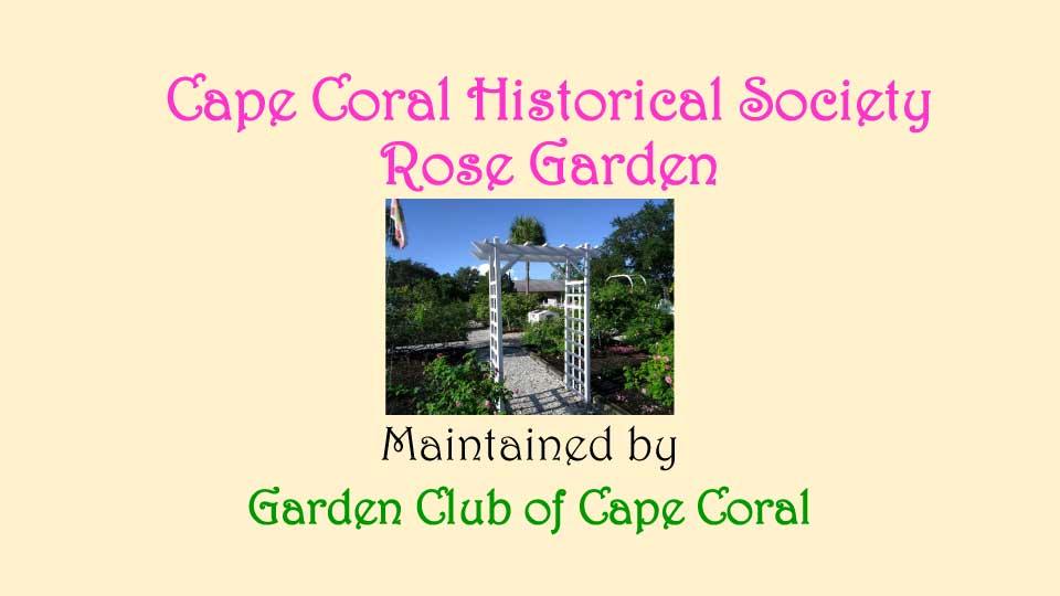 October Meeting 2020 - Rose Garden - 1