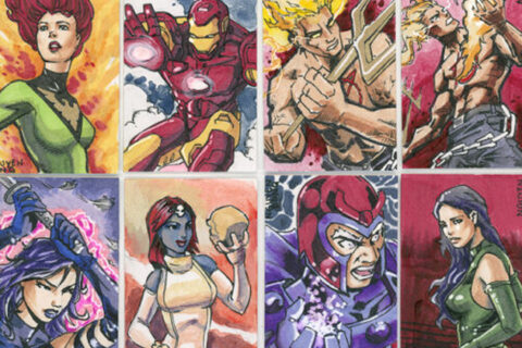 MARVEL PREMIERE 2017 SKETCH CARDS