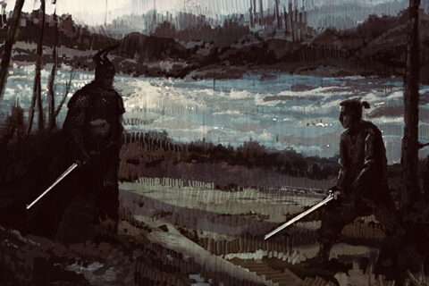 DUEL BY THE RIVER KEY FRAME