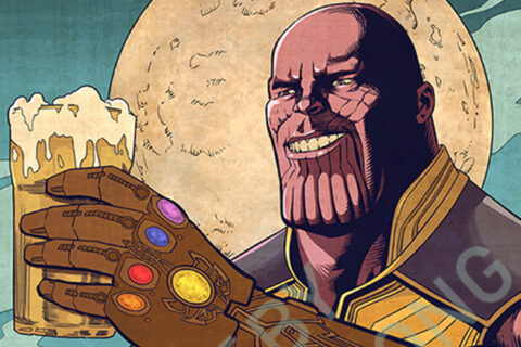Less People, More Beer – Thanos
