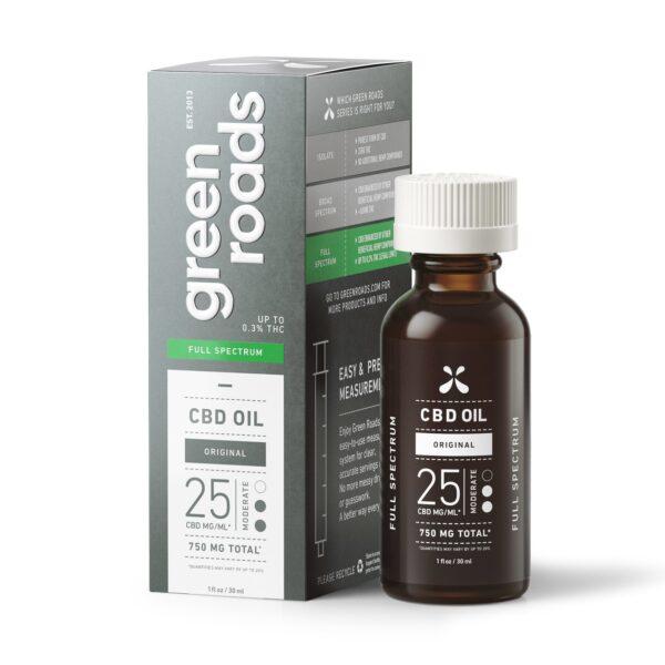 GR 750 mg Hemp oil tincture