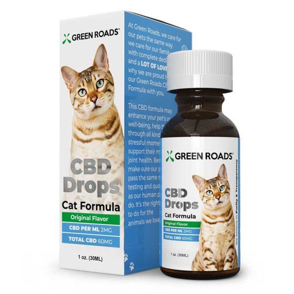 Green Roads World cbd oil drops for cats