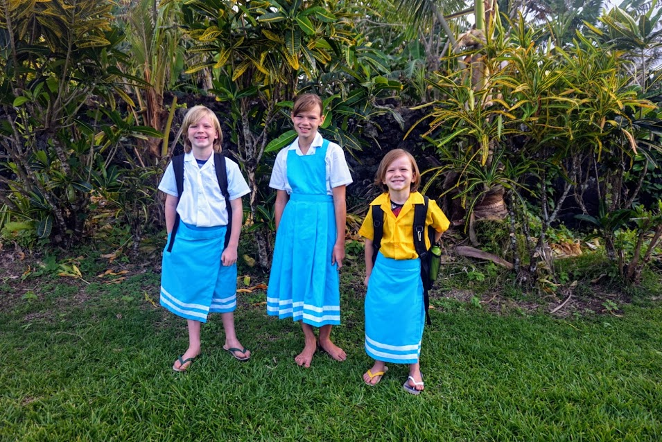 Tafuna Elementary School Uniforms, American Samoa