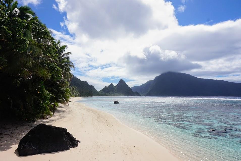 National Park of American Samoa, Ofu Beach